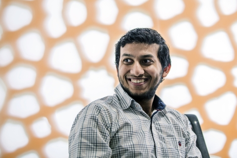 Ritesh Agarwal, founder and chief executive officer of Oravel Stays Pvt, owner and operator of Oyo Rooms (Photographer: Prashanth Vishwanathan/Bloomberg)