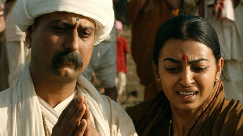 A still from <i>Tukaram.</i>