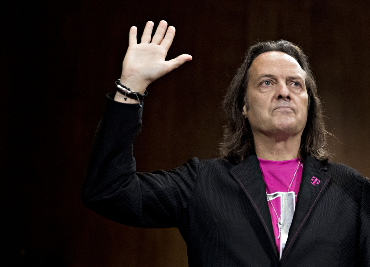WeWork Has Talked With T-Mobile's Legere in Search for New CEO