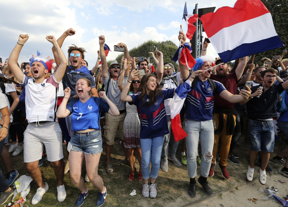 World Cup Triumph Gives France Something To Bask In, Finally