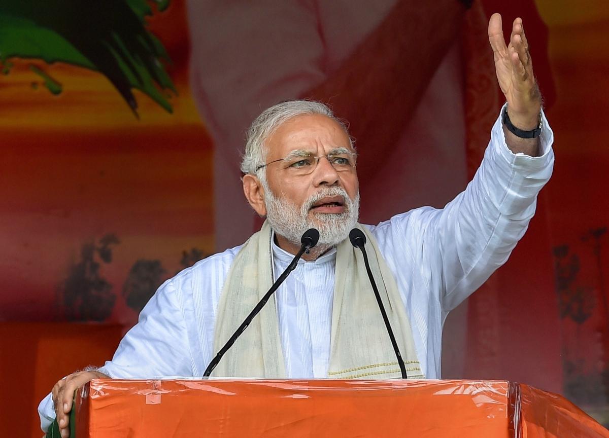 Modi Says India Will No Longer Be 'Helpless' In Fighting Terrorism