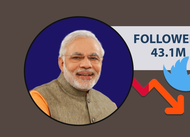 Twitter Crackdown: PM Modi Loses 3 Lakh Followers In Just 24