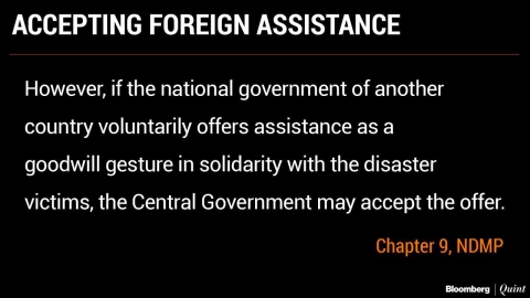 To Accept Foreign Aid Or Not? Kerala, Central Governments At Loggerheads