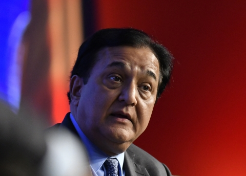 Rana Kapoor, chief executive officer of Yes Bank Ltd. (Photographer: Anindito Mukherjee/Bloomberg)