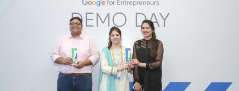Winners of Google Demo Day Asia (Source: Google)