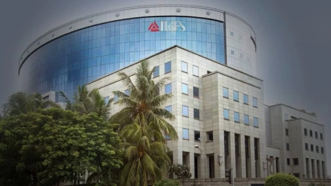 The IL&FS building in Mumbai. (Photograph: IL&FS Annual Report)