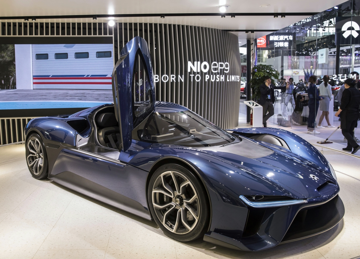 NIO Has the Electric-Car Look, But It's No Tesla