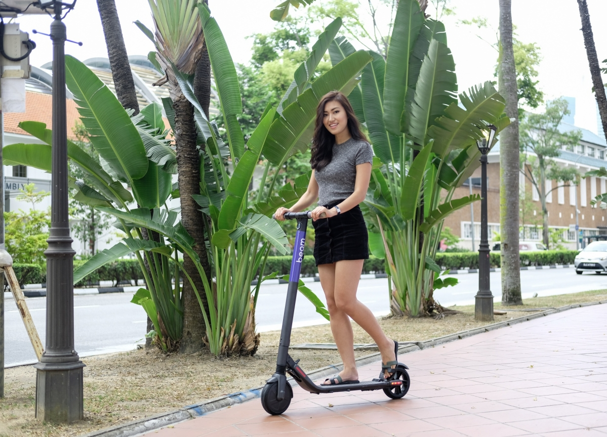 Beam Scores Funding to Bring E-Scooters to Singapore