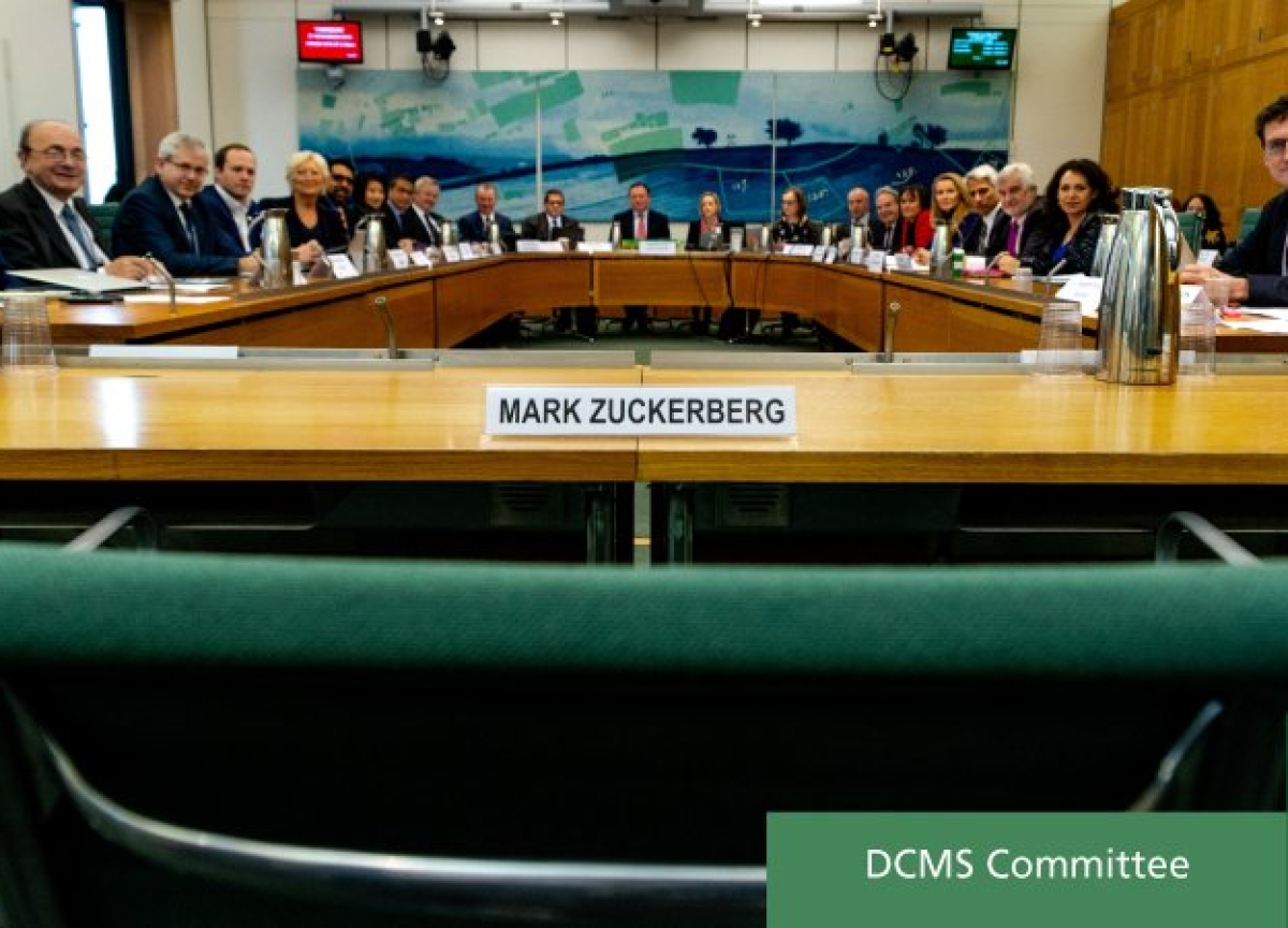 Lawmakers Post Photo of Empty Seat After Zuckerberg Fails to Turn Up