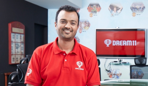 Harsh Jain, CEO and Co-Founder, Dream11. (Source: Dream11)