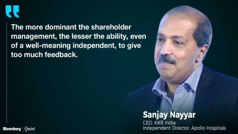 Independent Directors Lack Teeth, Says Sanjay Nayar In A Chat With M Damodaran And Arundhati Bhattacharya