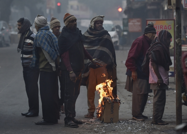 At 37 Degrees Celsius Delhi Records Coldest December Day In 12 Years