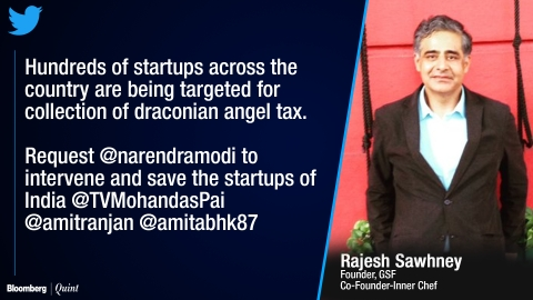 Indian Startup Founders Lose Sleep Over Angel Tax