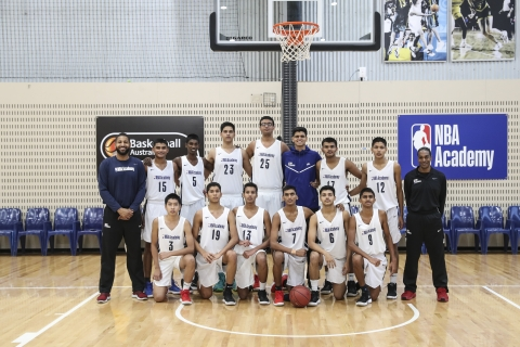 The NBA Academy In The National Capital Region Of Delhi Houses 24 Prospects Who Train On A 100 Percent Scholarship. (Picture Courtesy: www.nbaacademy.nba.com)