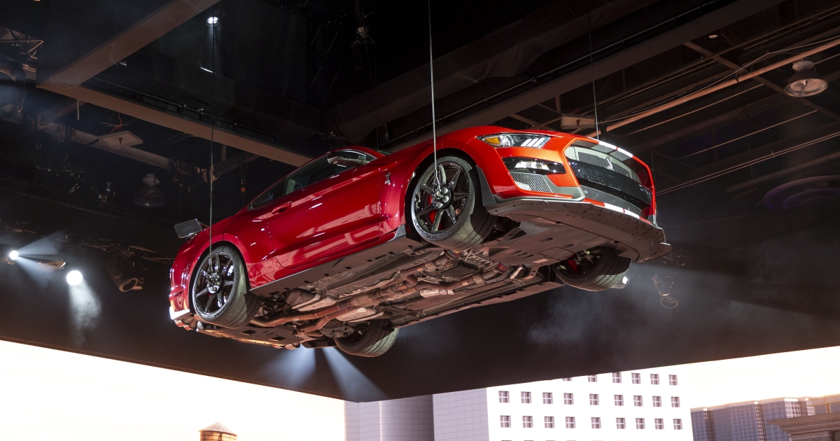 QnA VBage Ford Debuts Most-Powerful MUSTANG Ever...