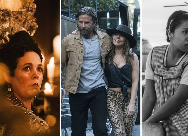 2019 Oscar Nominations: 'A Star Is Born' And 'Roma' Lead The