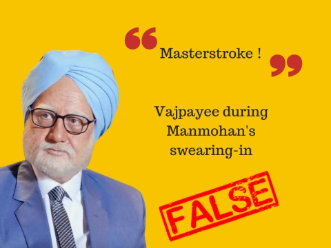 'The Accidental Prime Minister': A Minefield of Slippery Facts
