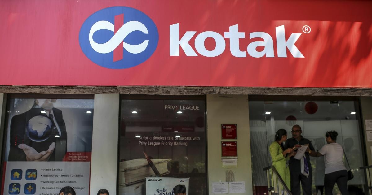 Q3 Results: Kotak Mahindra Bank Beats Estimates On Strong Loan Growth - BloombergQuint