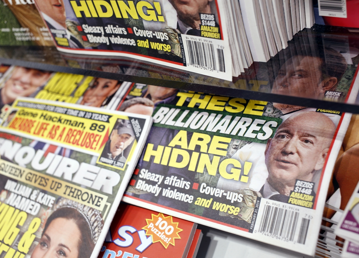 Why Walmart Won't Stop Selling the National Enquirer