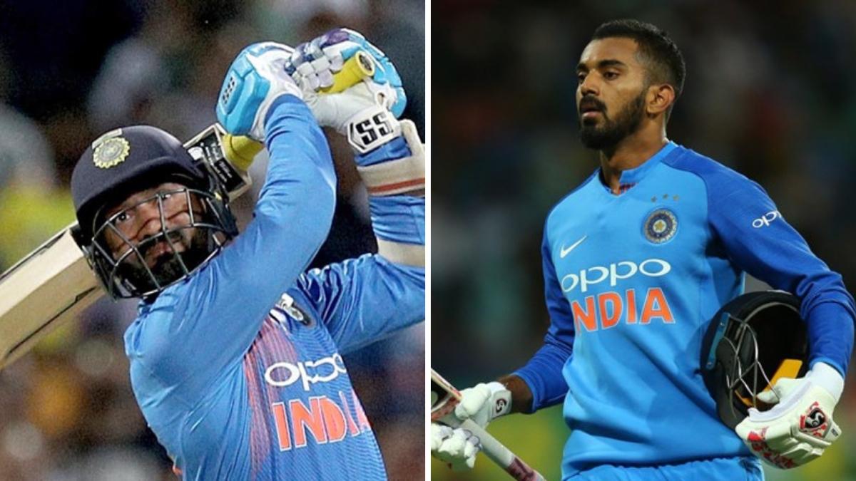 Karthik Dropped, Rahul Returns for India's ODI Series vs Australia