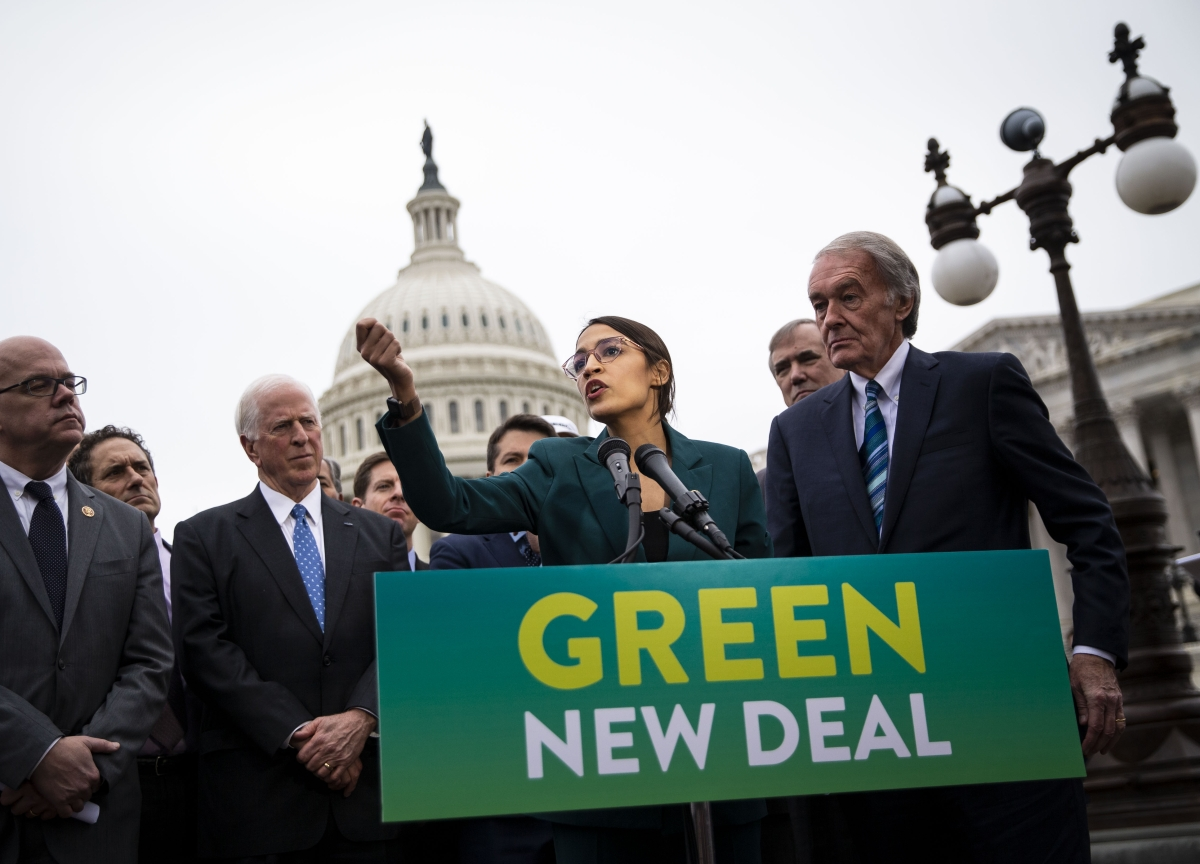 GOP Looks to Turn Ocasio-Cortez's Green New Deal on Democrats