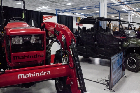 The Mahindra Automotive North America facility in Auburn Hills, Michigan, U.S. (Photographer: Laura McDermott/Bloomberg)