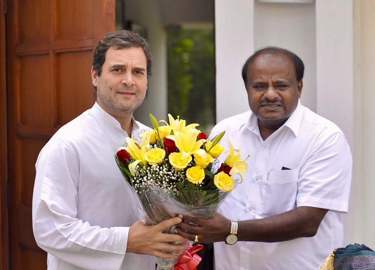 Congress Seals Alliance With JD(S) In Karnataka