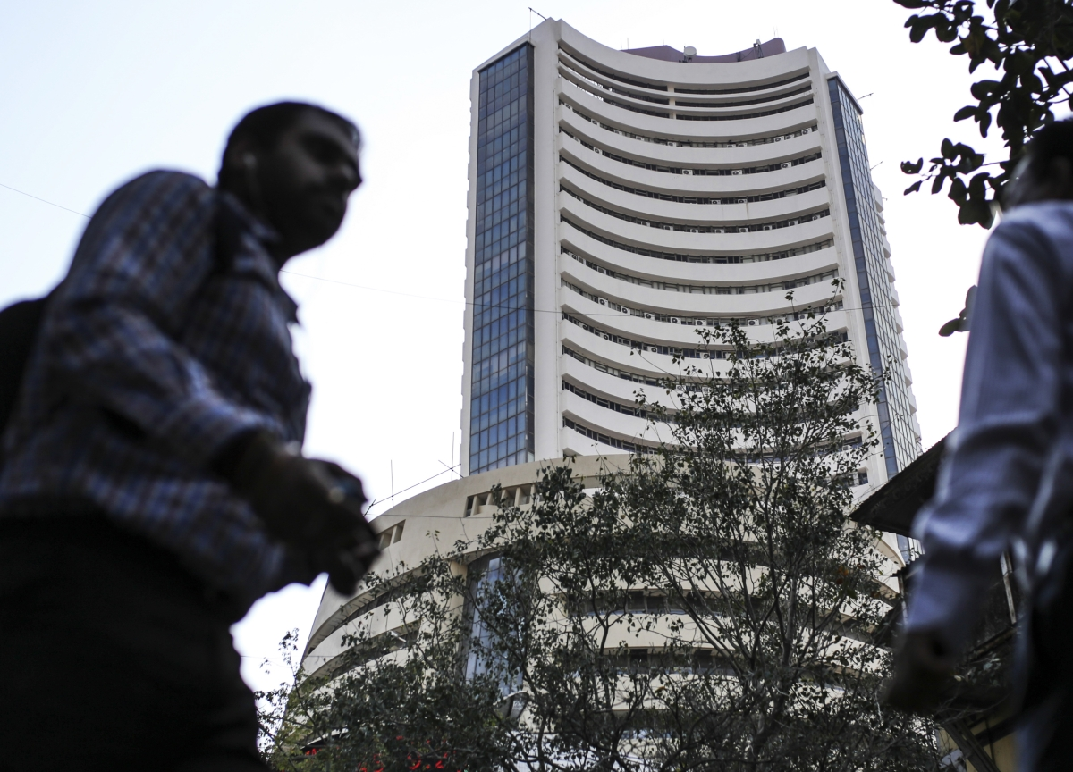 Sensex, Nifty End At Two-Week Low; Rupee Extends Drop