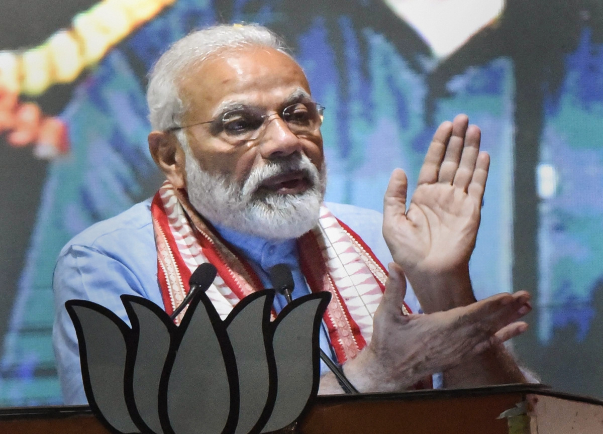 BJP Promises To Spend Rs 100 Lakh Crore On Infrastructure By 2024