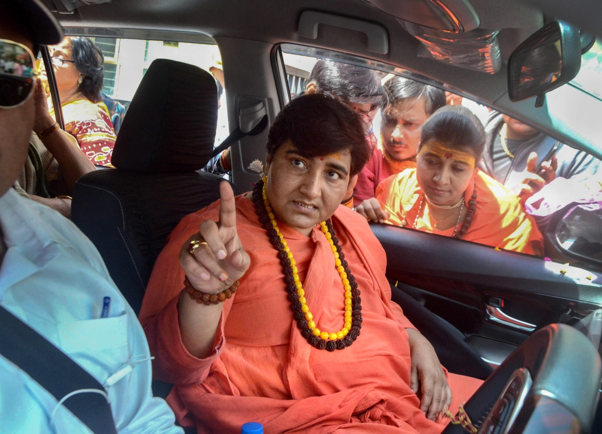 Elections 2019: Sadhvi Pragya Barred From Campaigning For 72 Hours By Election Commission