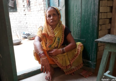 The question of whom to vote for in the election turned into a squabble between Mithilesh Kumari, 50, and her husband Ram Tirath. Kumari is disillusioned with the Narendra Modi government, she says, adding that she will not vote for anyone.