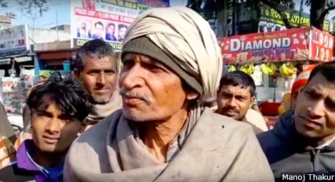 Mohan Lal, 65, has worked for over 30 years in a Yamunanagar plywood factory. Today, the man who was once an expert in cutting plywood, seeks odd jobs at construction sites. His income dropped from Rs 16,000 a month before demonetisation, to Rs 3,000-Rs 5,000 now.