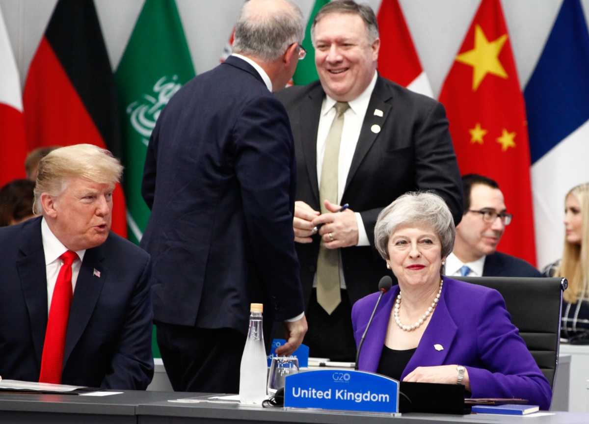 Trump and May End Relationship That Began Strained and OnlyGot Worse