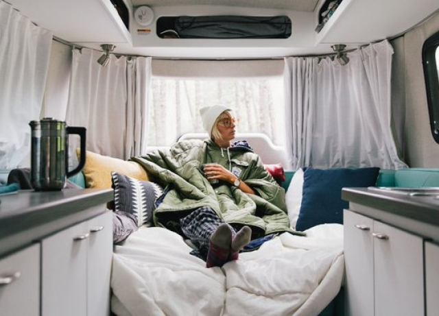 Outdoor Camping Van: Airstream Made An Escape Pod For The