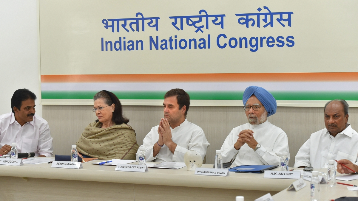 Congress In Crisis After Modi's Big Win