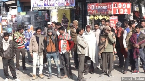 Fawara Chowk in Yamunanagar sees about 1,500-2,000 labourers every day. Most of these labourers, from across Haryana and neighbouring states such as Uttar Pradesh, had worked in plywood units that either retrenched workers or simply shut down.