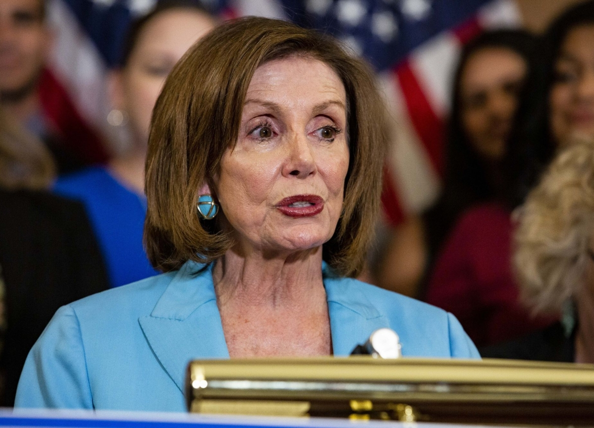 Pelosi Yields to Pressure, Lets House Pass Senate Border Bill