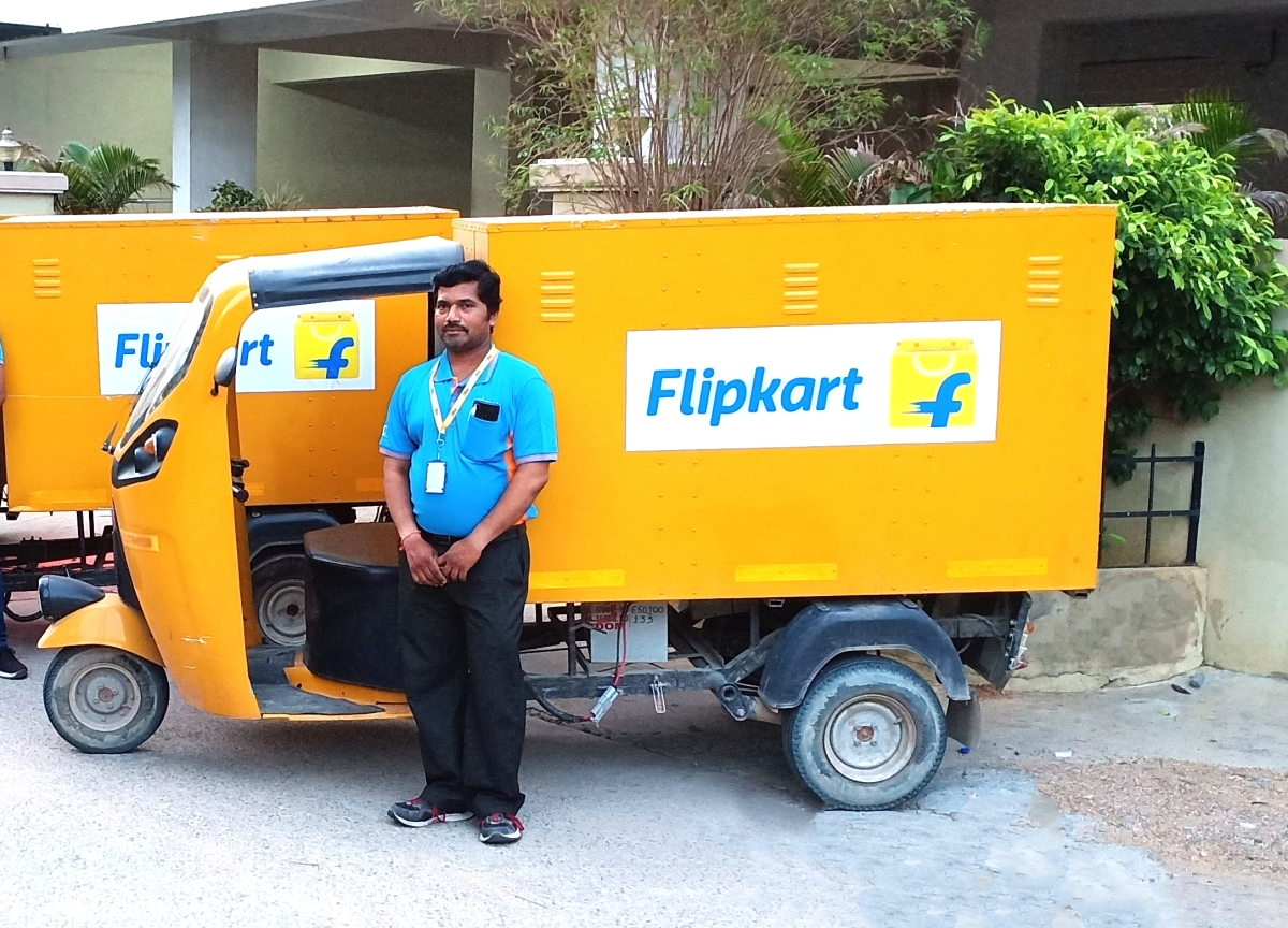 Flipkart To Go Electric For Last-Mile Delivery