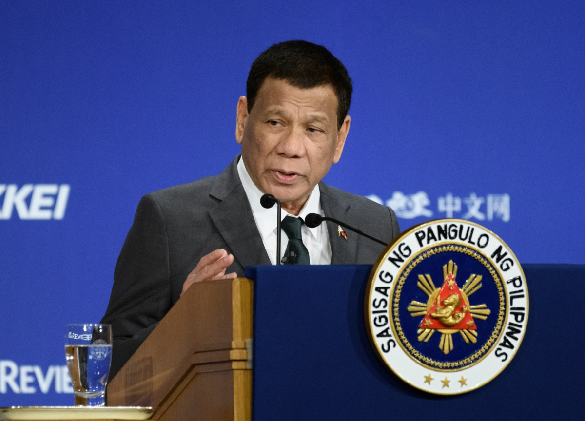 Duterte in U-Turn Says China Can't Fish Philippines Waters