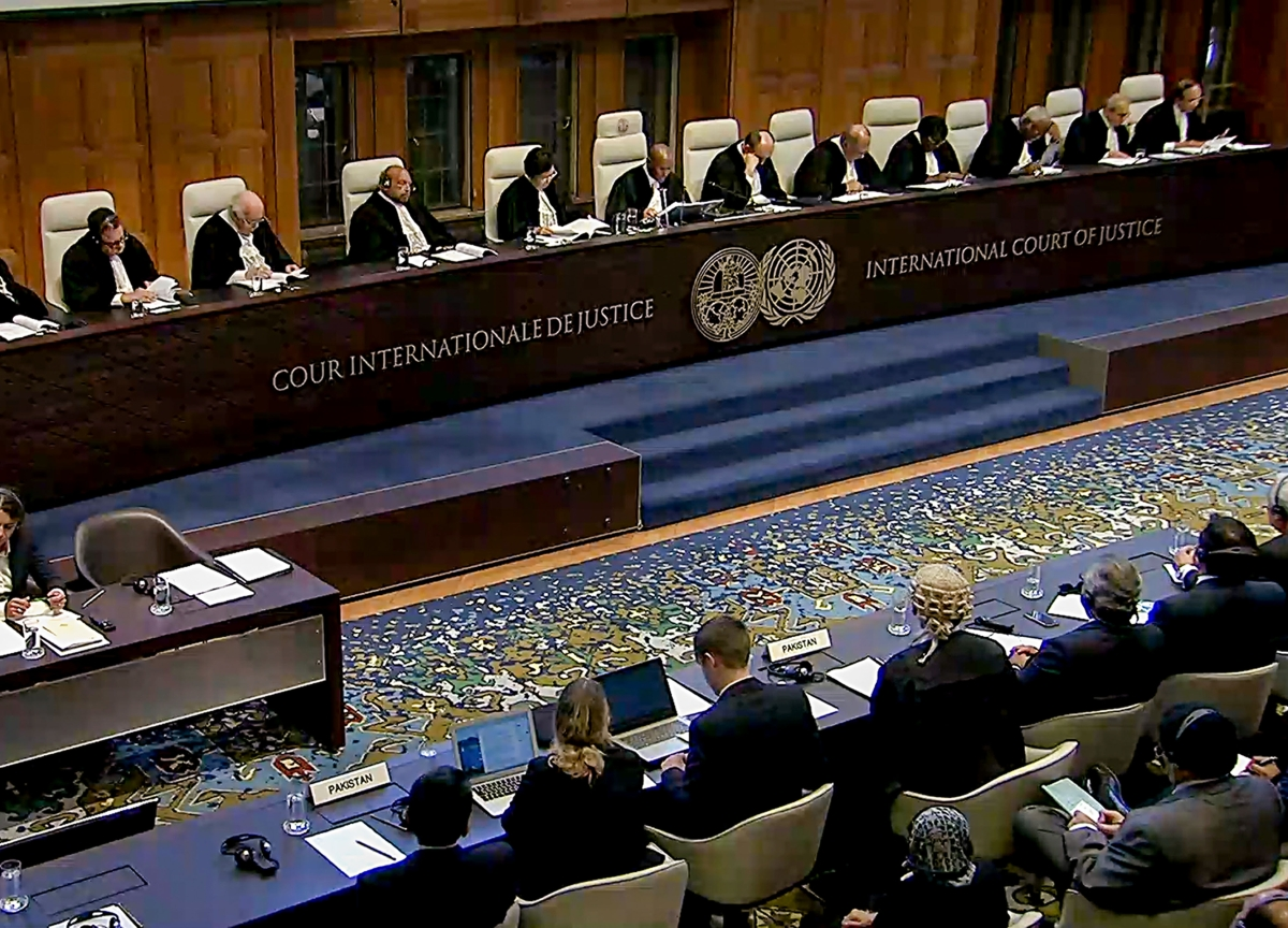 UN Court Directs Pakistan To Review Case Of Kulbhushan Jadhav