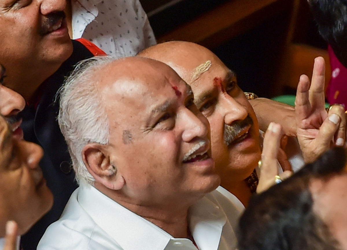 New Karnataka Chief Minister Yeddyurappa Goes Back To Being Yediyurappa