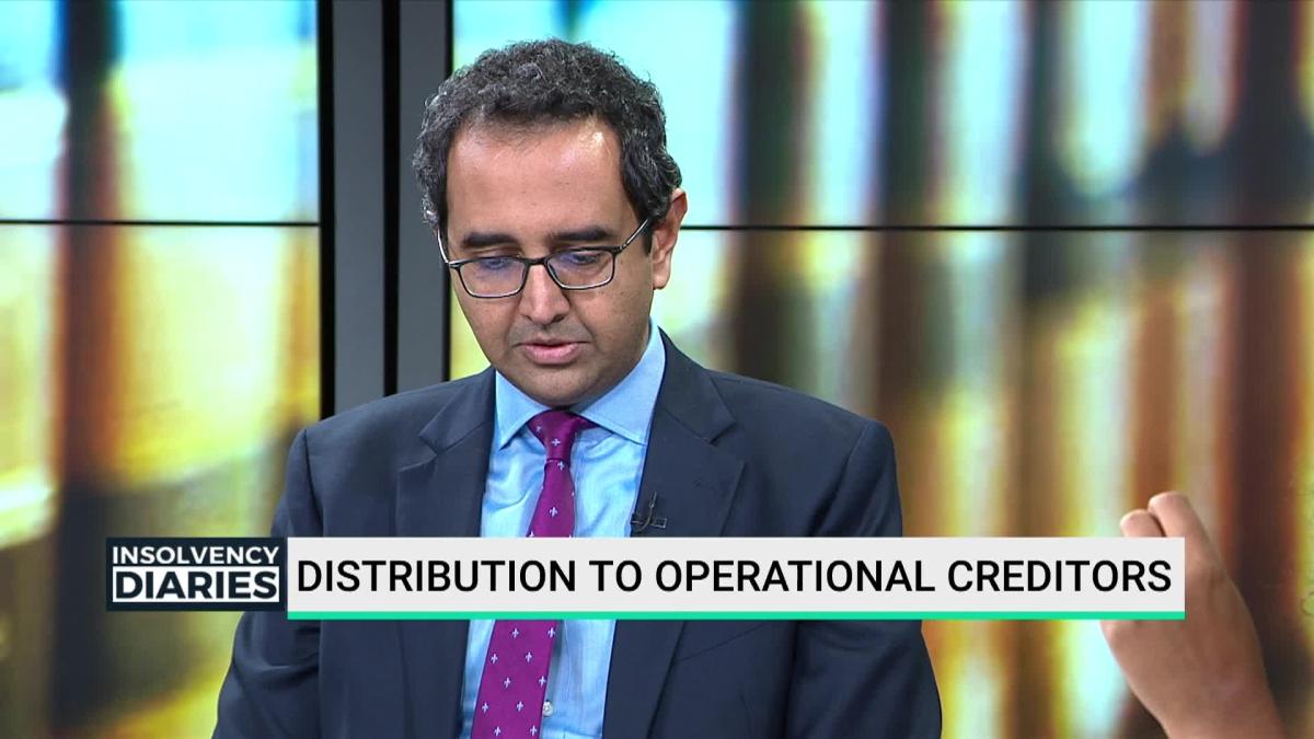 IBC Amendments: Distribution To Operational Creditors
