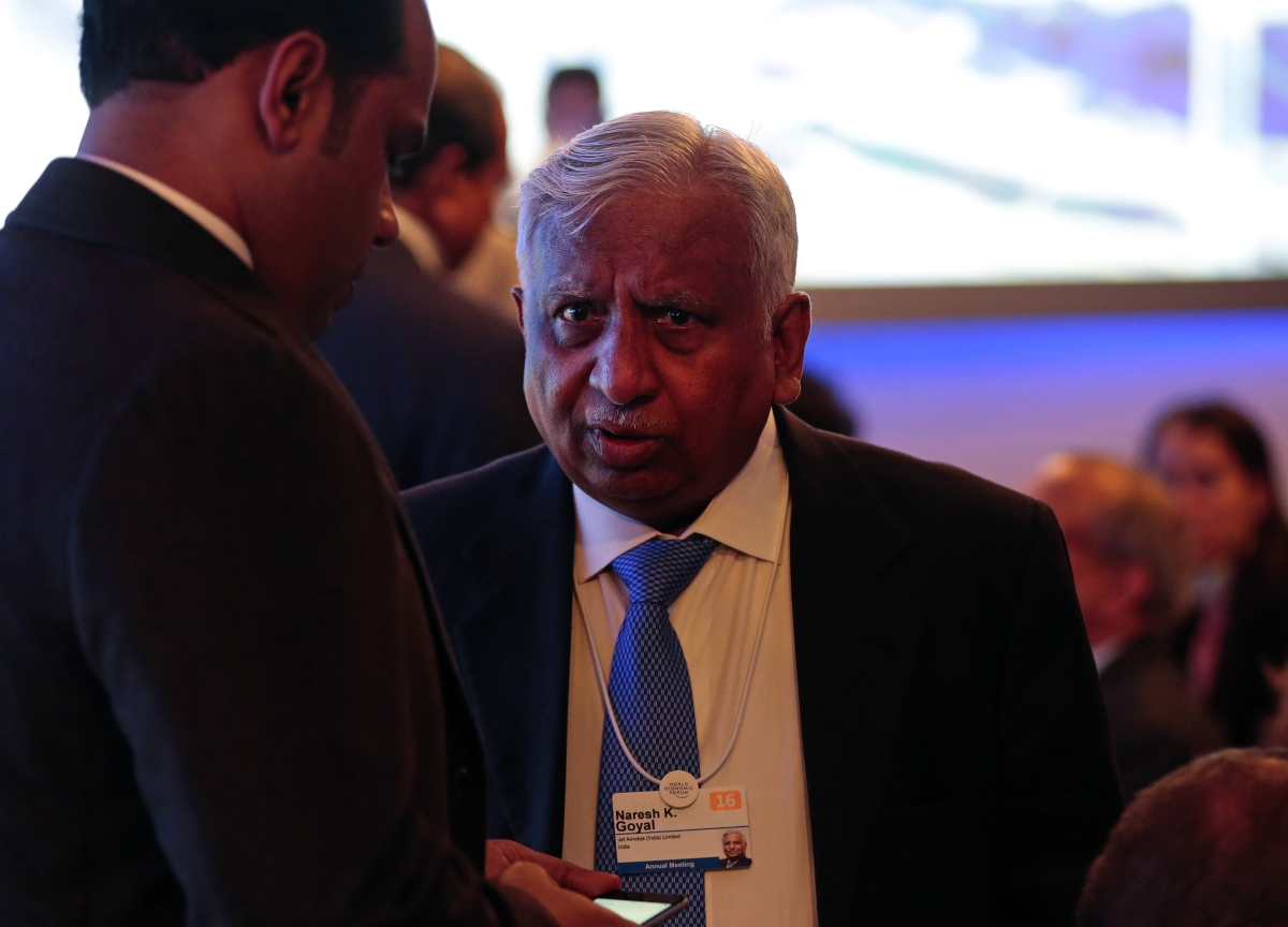 Jet Airways Founder Naresh Goyal Booked On Money Laundering Charges