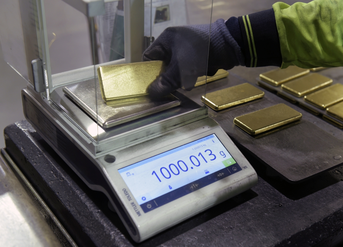 Goldman Sees Gold Prices Climbing to $1,600
