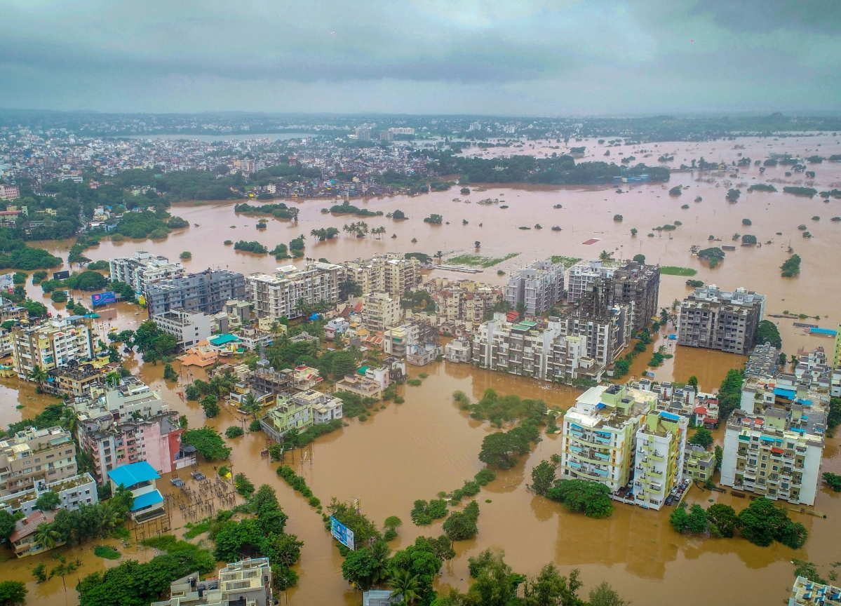 Floods Ravage Kolhapur, Sangli; 1.32 Lakh Evacuated In Western Maharashtra