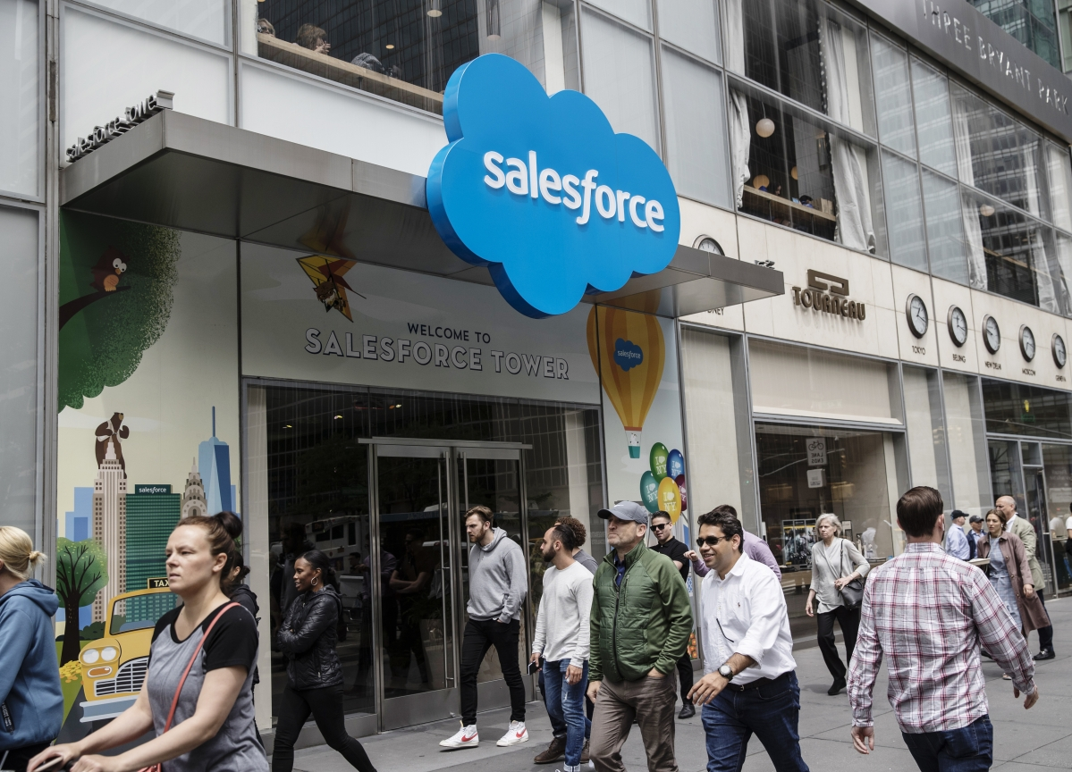 Salesforce to Acquire ClickSoftware for $1.35 Billion