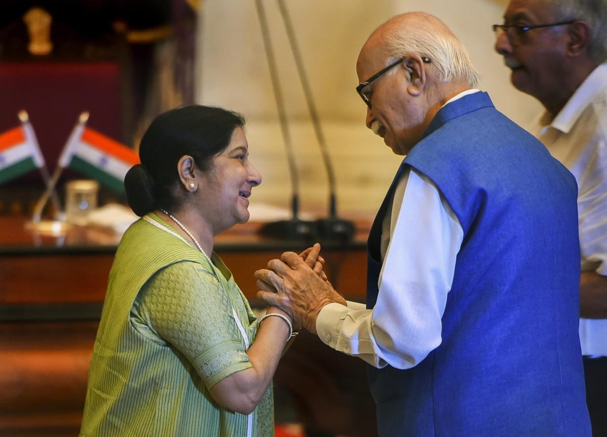 Sushma Swaraj A Role Model For All Women Leaders, Says LK Advani