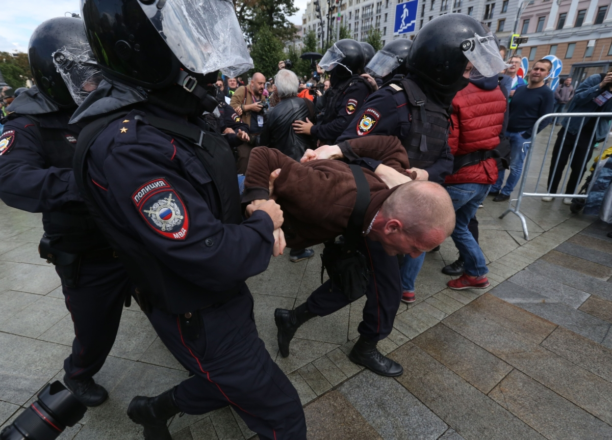 As Putin's Popularity and the Economy Dip, Protests Pop Up Across Russia