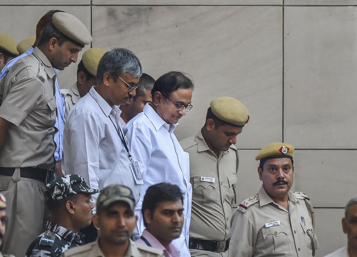 INX Media Case: Court Sends P Chidambaram To Tihar Jail