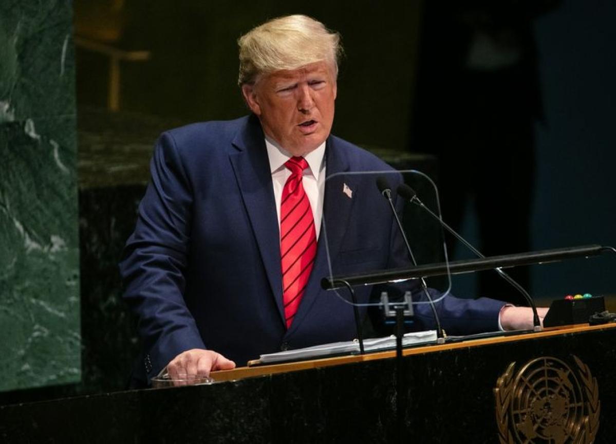 Big Tech Loses $56 Billion in Market Cap After Trump's UN Speech